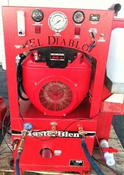 el diablo carpet cleaning machine