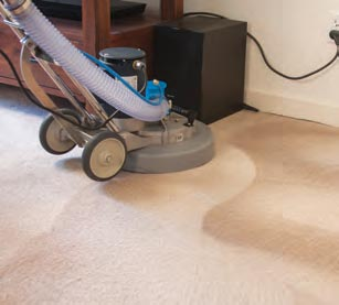 Sapphire Scientific Hoss 700 Demo Rotary Carpet Cleaning