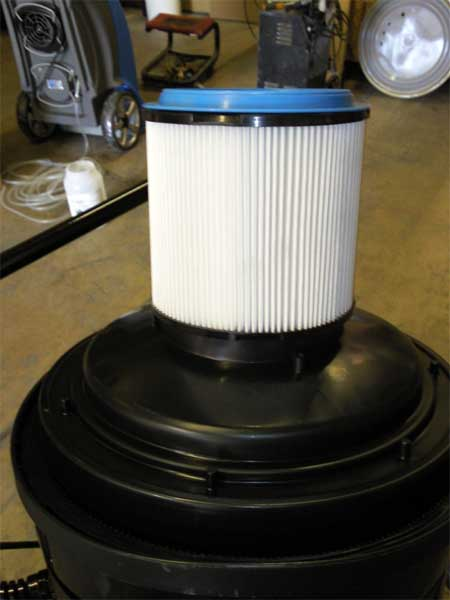 Clean Storm Hepa Triple Vacuum Motor Triple Filter Wet