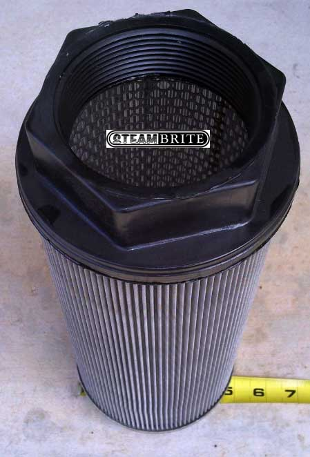 Truck Mount Waste Tank Filter 3in Fpt X 100 Mesh X 12 5