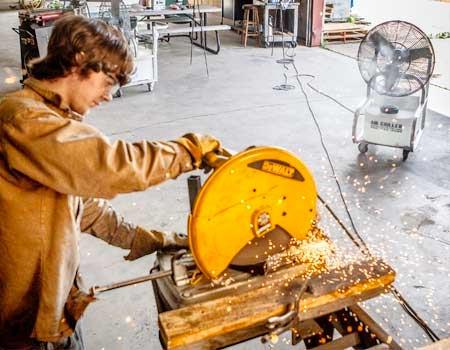 workshop cooling