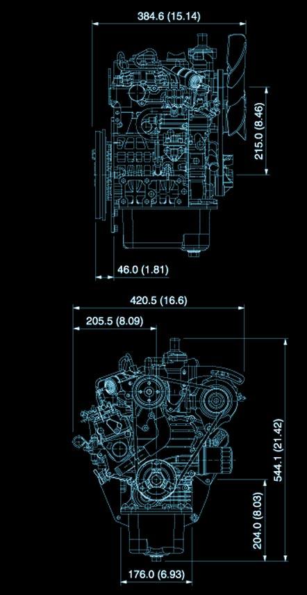 Kubota Z602 Super Mini Diesel Engine Z602 Kubota Engine