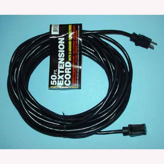 50 ft 12-3 Extension Power Cord 115 volt AX33