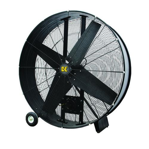 Be Pressure Fd42b 42inch Belt Drive Drum Fan 17 700 Max