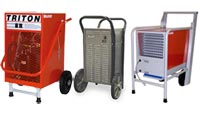 Steel Cabinet Wheeled Dehumidifiers