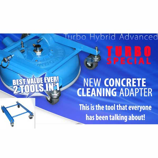 Turboforce: TH-12CA Concrete Cleaning Adapter (TH40 tile cleaning wand not included)