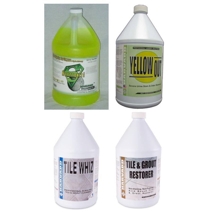 Shazaam Tile Cleaning Start Up Package Starter Pak 4