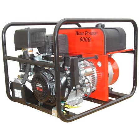 Wincou0027s HPS6000 Is A High Quality Generator For The Home Owner Who Always  Wants To Have Power Available. The Dependable Honda GX340 Is Fitted With A  Dual ...