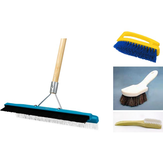 Carpet And Upholstery Cleaning Manual Brush Set 20100907