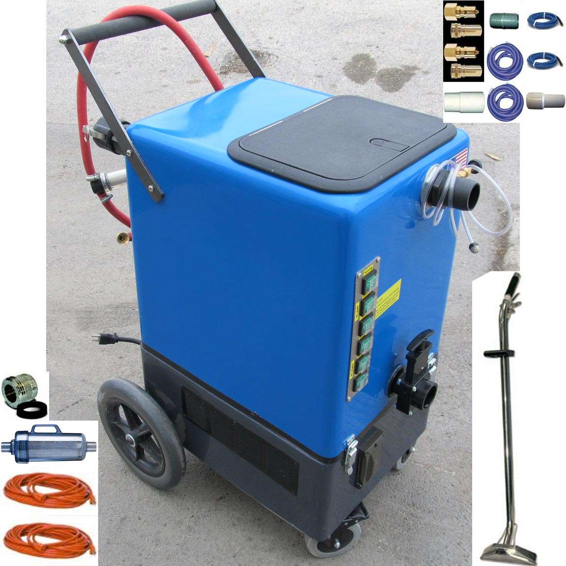 Clean Storm Goliath 20gal 500psi Four 2 Stage Vacs Auto