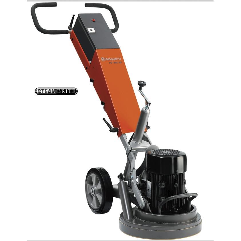 Husqvarna Pg 280sf Cement Floor Grinder 2 Hp Pg 280sf