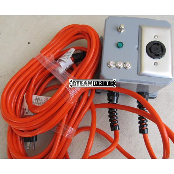 Power Joiner Step Up Inverter Takes Dual 20 Amp 115 Volt