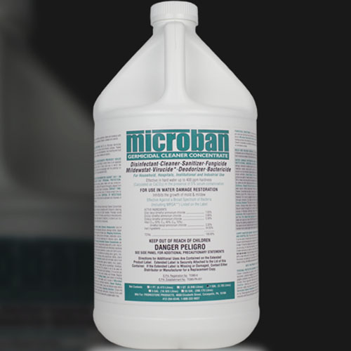 Chemspec Microban Qgc Germicidal Cleaner Concentrate Mint