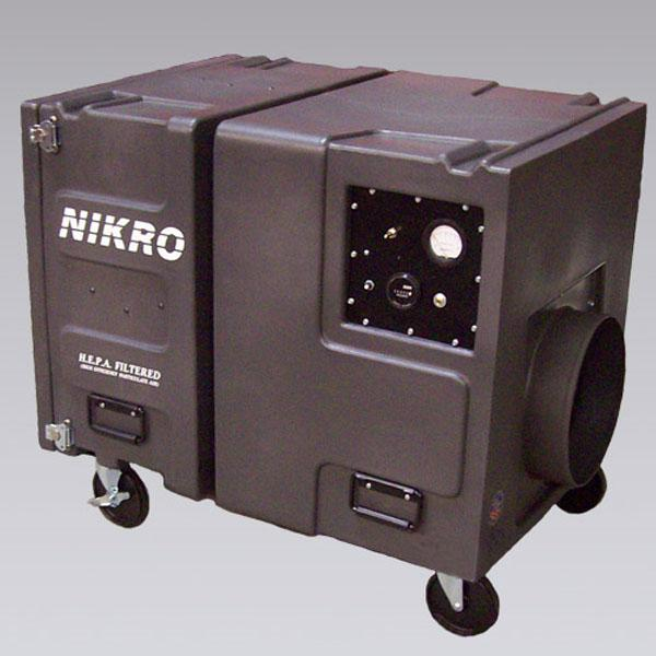 Nikro Portable Air Scrubber Ps2009 3 Stage Hepa 2000 Cfm