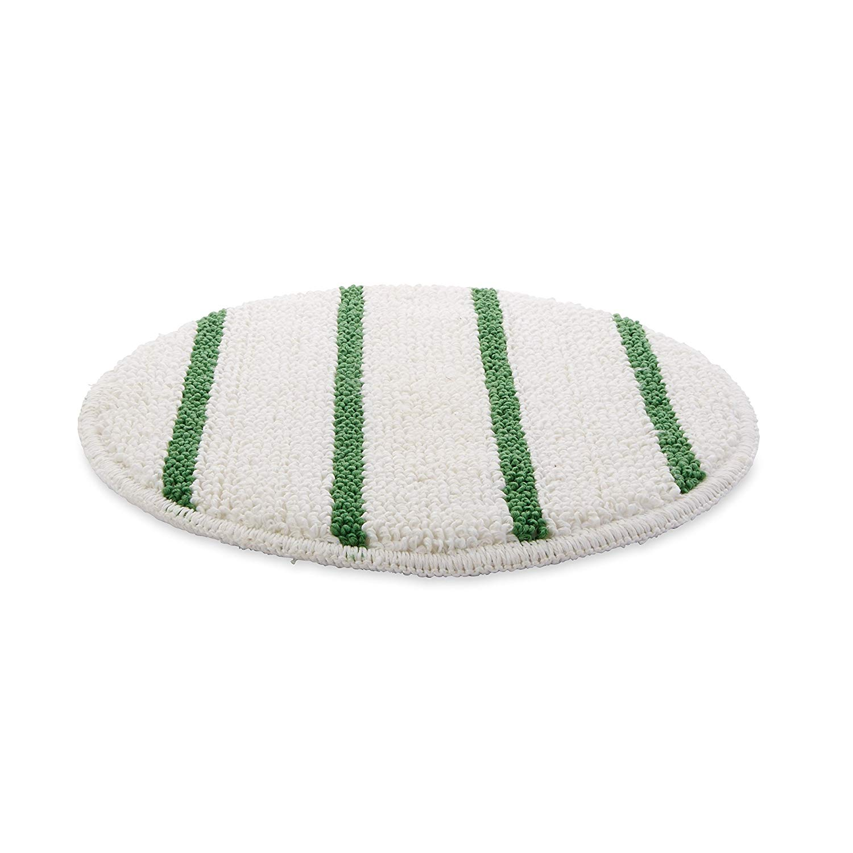 Rubbermaid Commercial Low Profile Carpet Bonnet With Green