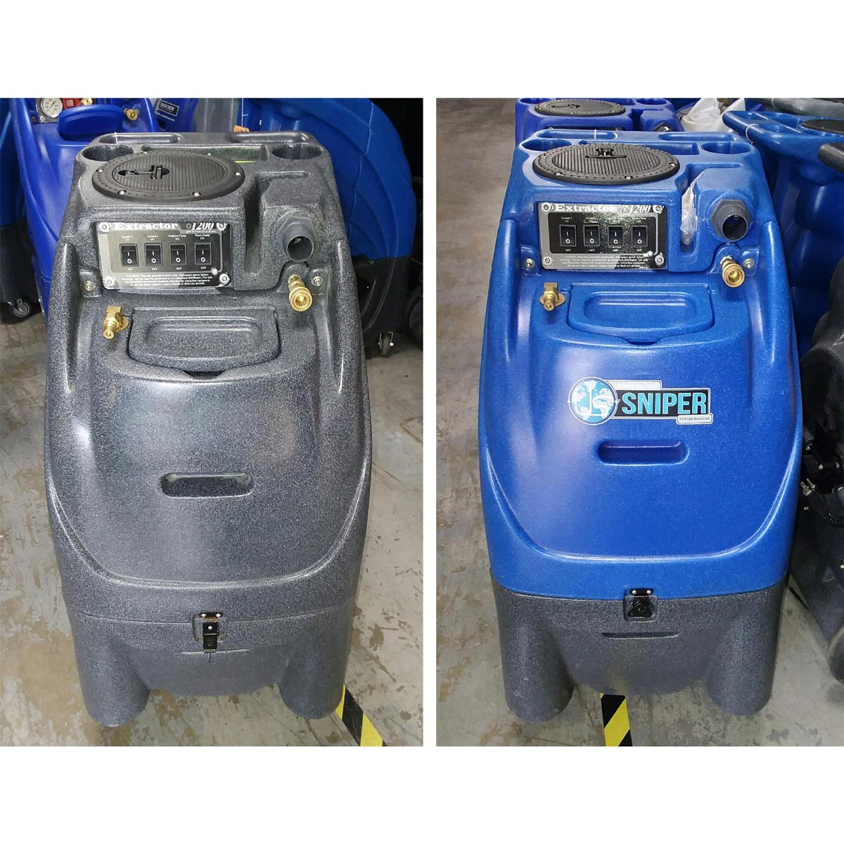 Sandia Plastic Demo Tile And Grout Cleaning Machine 12gal